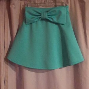 Rue21 XS/S Teal Skirt